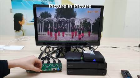 4K UHD HDMI QUAD MULTIVIEWER TURNKEY SOLUTION