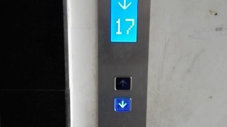 竹映三清电梯下行3之新装的电梯