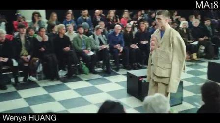 LCFMA18 Menswear Catwalk Show