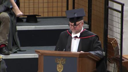 Degree Congregation 11am Friday 26 January 2018 - University of Leicester
