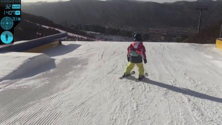 崇礼翠云山银河滑雪场 公园 dji osmo mobile iphone6 拍摄