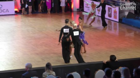 桑巴 Antti Kapanen & Ada Varstala_Samba_WDSF World Championship Youth 10 Dance