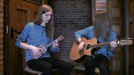 Storytellers - Pirates of the Caribbean Theme - w_baton rouge guitar & ukulele