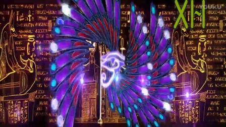 沃姿神奇印度埃及西域风情舞蹈配乐成品LED大屏幕背景视频素材.mp4_超清