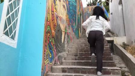 彩虹糖城市瓜纳华托Guanajuato