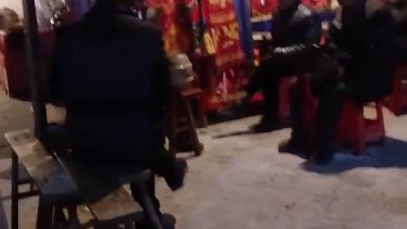 四川泸州市泸县丧事耍狮子开幕