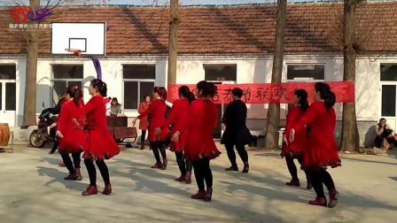 2018母官都广场舞 -- 红红的蝴蝶结