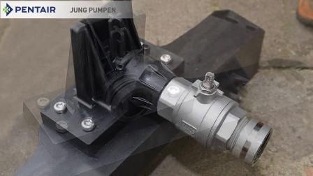 安装 Jung Pumpen PKS  由 Pentair