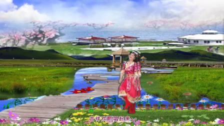 政务中心紫竹广场舞《吉祥欢歌》