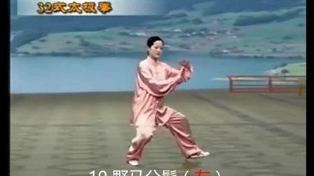 32式太极拳 带字幕 带口令_标清