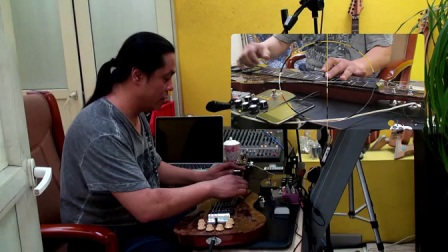 Vorson 夏威夷电吉他 FLSL-999Pro