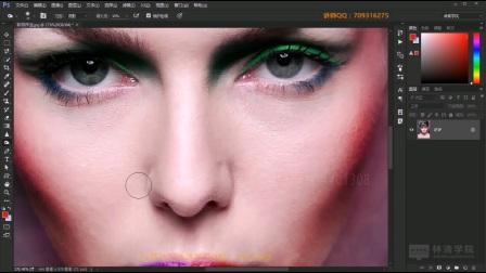 Photoshop基础入门教程第17课-加深工具组
