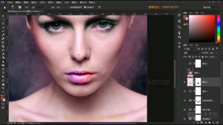 Photoshop基础入门教程第16课-模糊工具组
