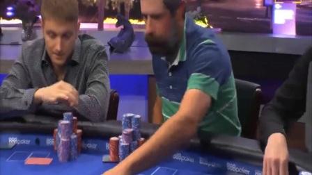 德州扑克:2018美国公开赛1万美元买入决赛桌01