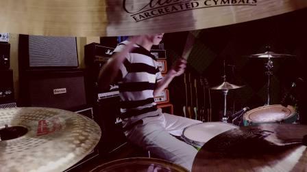 Summer Sunshine 乐队 前途光年 鼓手 @DRUMS翔 Play through 架子鼓