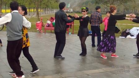 洋人街摩登舞团春游广阳岛