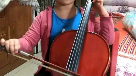咪咪小盆友大提琴《小星星快弓》