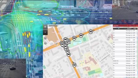 smartmicro 3D/UHD transmits Car2X Data
