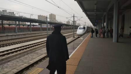 D6818进咸阳秦都站一站台 宝鸡南西安北