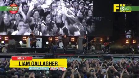 前绿洲主唱Liam Gallagher最新阿根廷音乐节全场首播