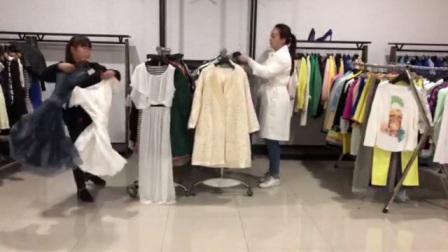 女装品牌走份视频第一期100件1599元独一份