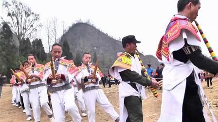 赫章县雉街乡野鸡苗寨民族传统文化艺术节-栽花树