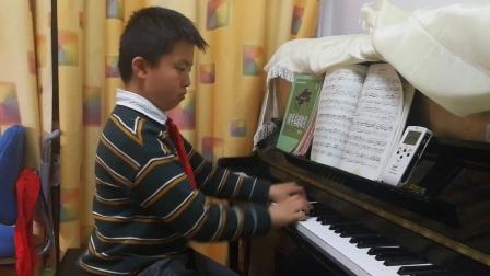 曲目是小奏鸣曲Op.36No.6,克列门第