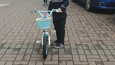 张继宇学自行车