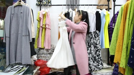 精品女装批发服装批发女士时尚夏款连衣裙30件起批,可挑款零售混批