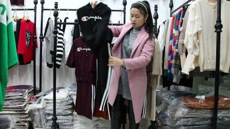 精品女装批发服装批发女士时尚春夏秋款针织两件套裙装15套起批,可挑款零售混批