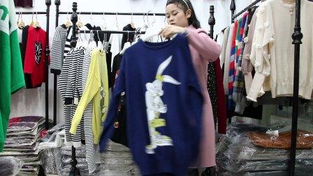 精品女装批发服装批发女士时尚春夏秋款针织小衫10件起批,可挑款零售混批