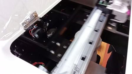 咖啡拉花机打印方法
