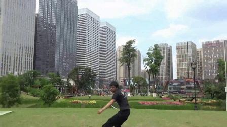 贵州 武术双节棍 空翻表演 跑酷 特技 散打 跆拳道实战腿法