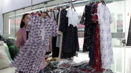 精品女装批发服装批发女士时尚夏款女士精品连衣裙走份20件一份,不可挑款零售混批