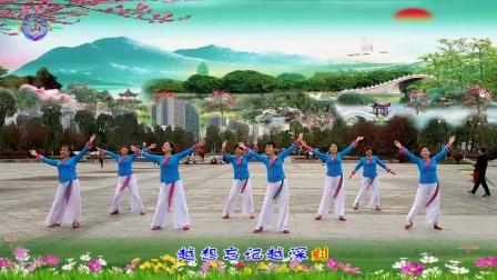 黄山紫纤广场舞《思慕》