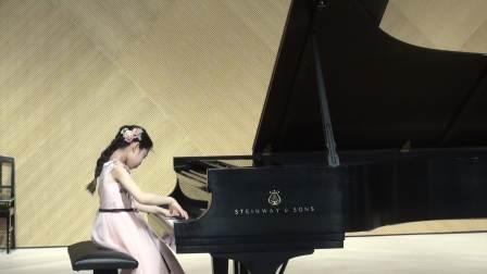 7岁Jessica Wang plays Arietta Op. 43, no.7 by Gliere