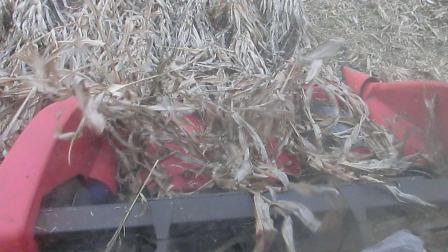 天人玉米割台 收倒伏