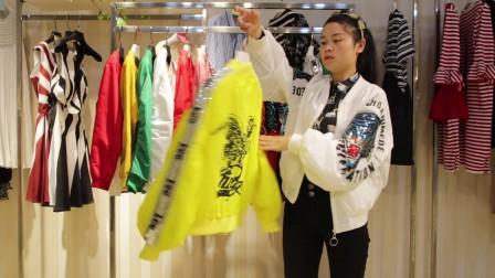 精品女装批发服装批发品牌女士时尚春夏秋短款防晒衣20件起批,质量很好挑款零售混批