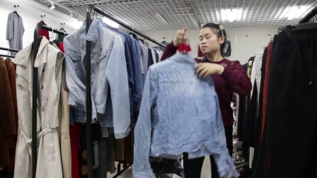 精品女装批发服装批发女士时尚春秋款精品牛仔外套25件一份仅此一份,不挑款零售混批