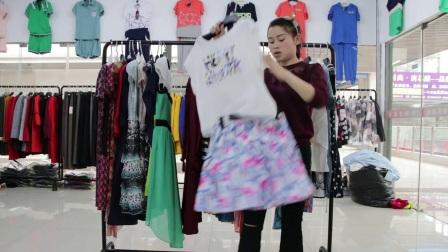 精品女装批发服装批发女士时尚夏款精品连衣裙走份30件一份仅此一份,不挑款零售混批