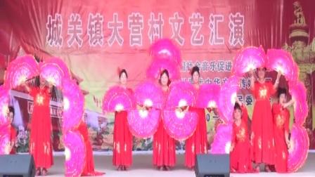 爱我中华-杨师慑影-东坪快乐舞蹈队-祖国颂》领队-金福珍斩月