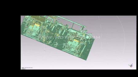 电厂虚拟改造 工厂三维激光扫描