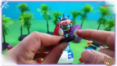 爱探险的朵拉与天线baby一起学习拆惊喜蛋玩具,芭比之梦想豪宅