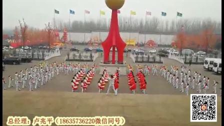 山西潞宝集团120人女子威风锣鼓队