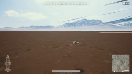 【绝地求生】惊呆!上飞机就出现沙漠地图地底bug