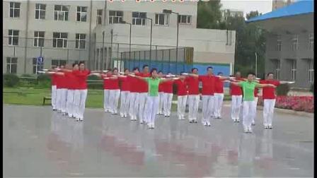 六节佳木斯快乐舞步健身操音乐字幕口令完整版_高清_1