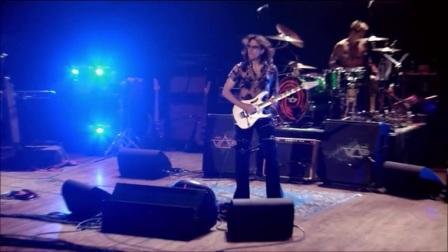 吉他大师史蒂夫范现场电吉他solo演奏经典,这可能是最骚的吉他曲