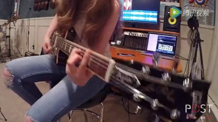 弹布鲁斯吉他的女孩playmp4