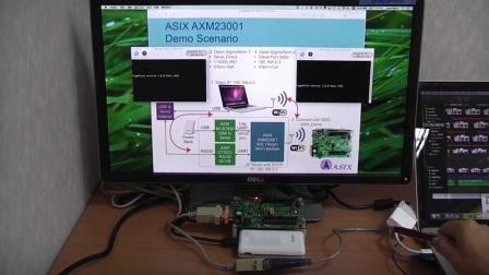 亚信AXM23001 RS-232 to WiFi 功能展示 [中文解说]
