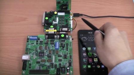 亚信AXB03x BLE Module 灯光控制功能展示 [中文解说]